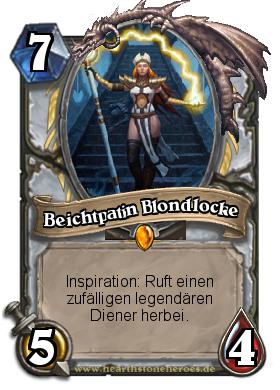 Beichtpatin Blondlocke