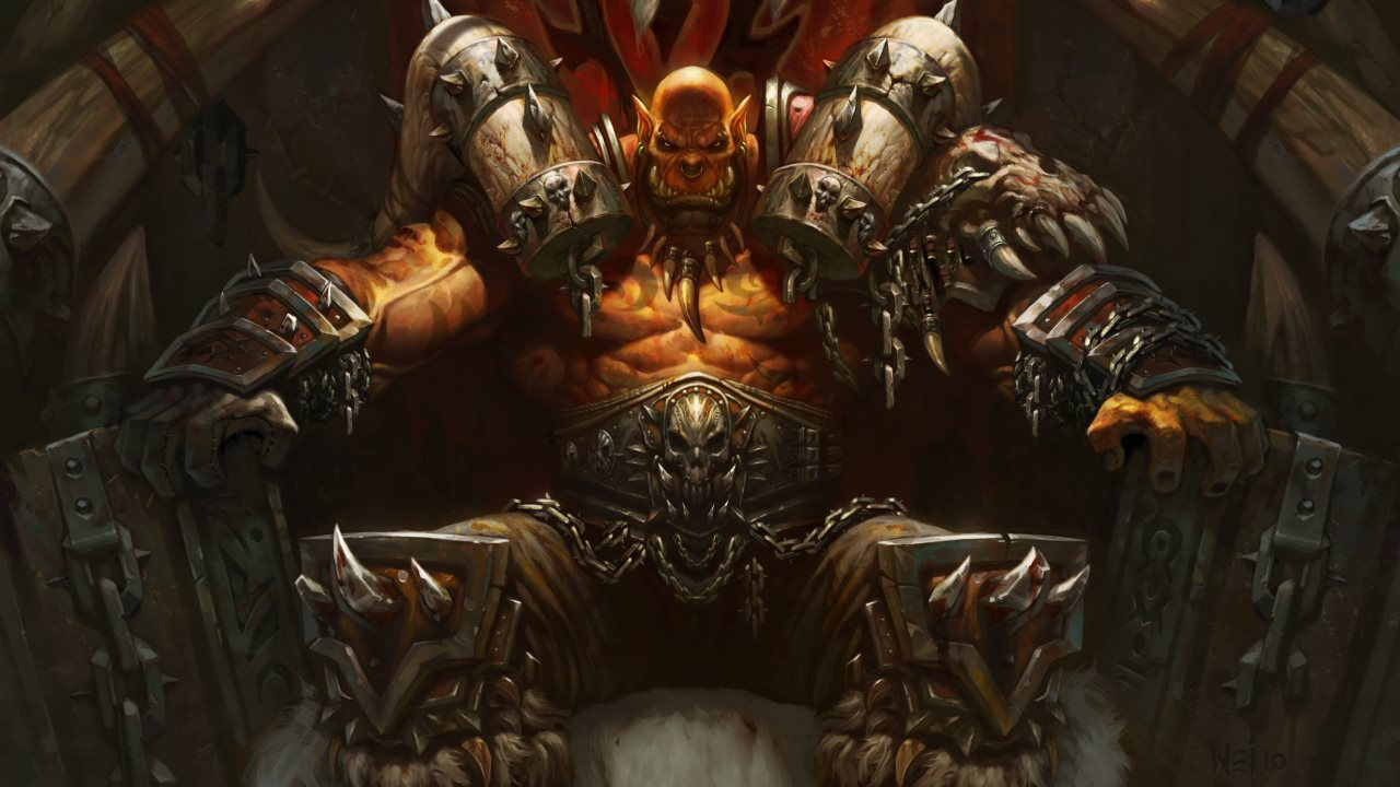 Hearthstone - Artwork Garrosh