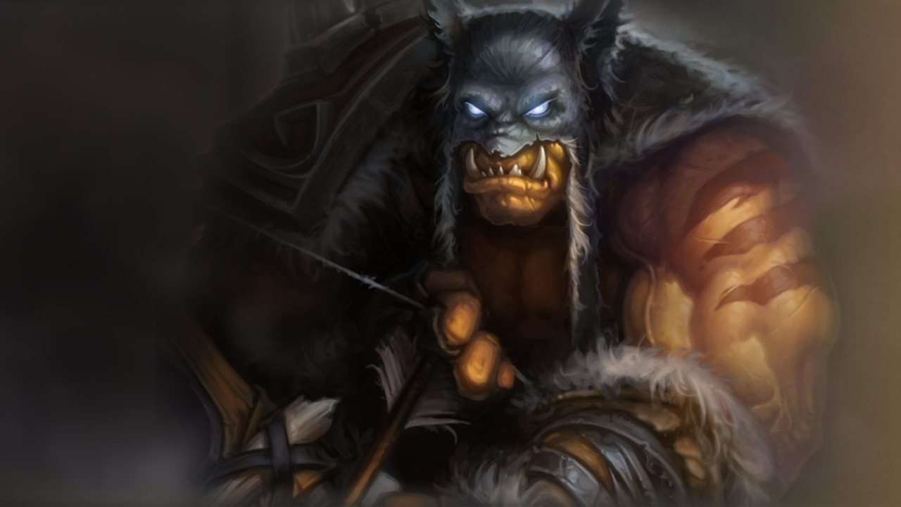 Hearthstone - Rexxar Artwork