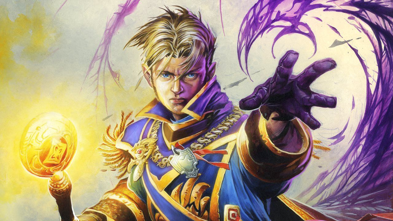 Hearthstone - Anduin Priester Artwork