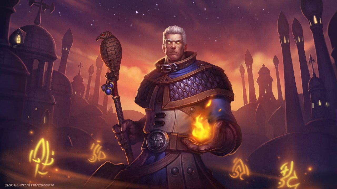 Helden-Artwork Khadgar
